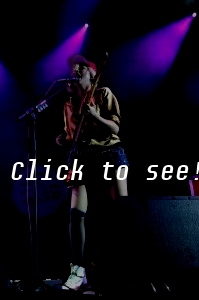 THE TING TINGS @ Forestglade, Wiesen 2012